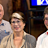 Bill Logan, Fran Wilde and Alison Laurie