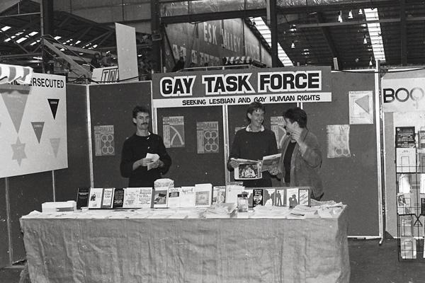 Image: Gay Task Force stall