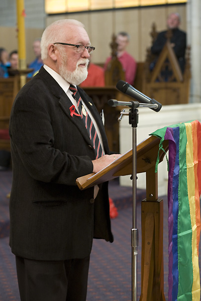 Image: NZ AIDS Memorial Quilt gifting ceremony