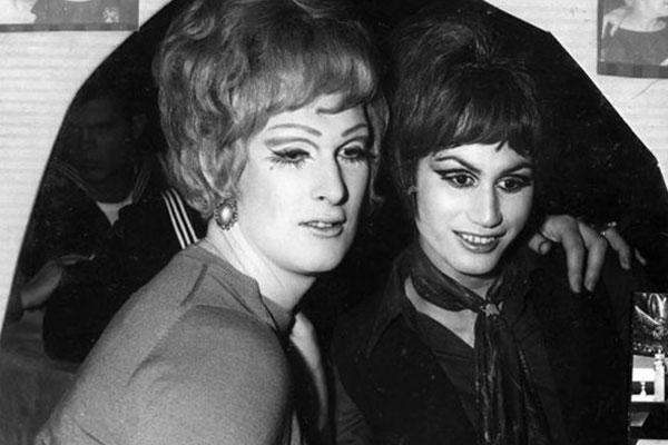 Image: Dana de Milo (left) and friend