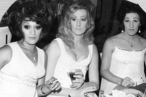 Image: Dana de Milo (middle) and friends