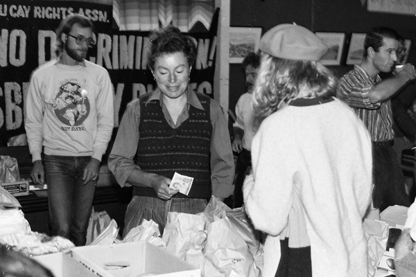 Image: The first Lesbian and Gay Fair